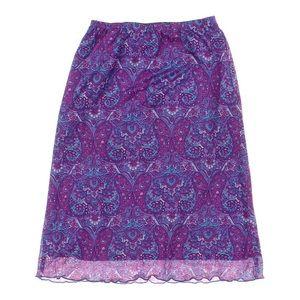 90's Cyber generation skirt